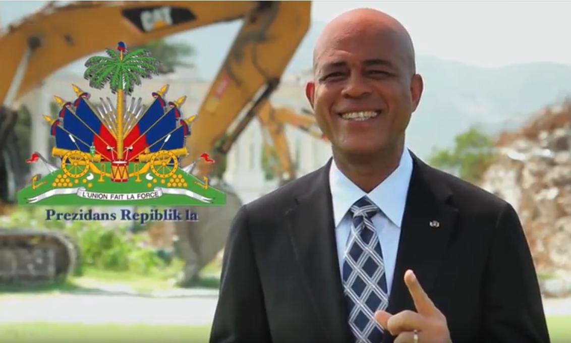 Campaña institucional de la Presidencia de la República de Haití (2012).