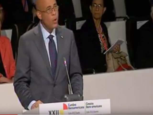 Discurso del Presidente Michel Martelly