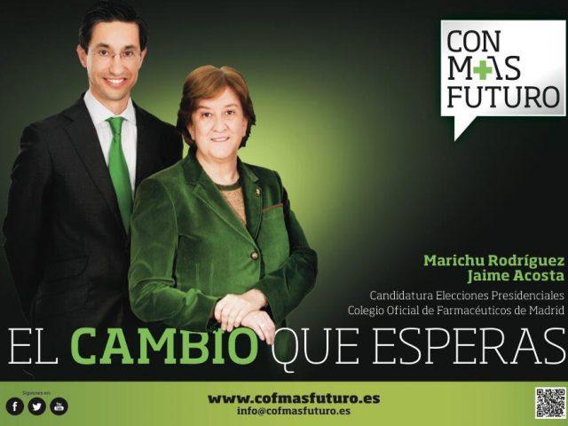 Candidatura electoral de María Jesús Rodríguez a la Presidencia del Colegio Oficial de Farmacéuticos de Madrid