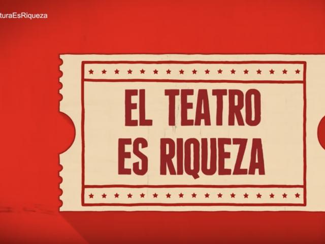Campaña de sensibilización '#CulturaEsRiqueza'